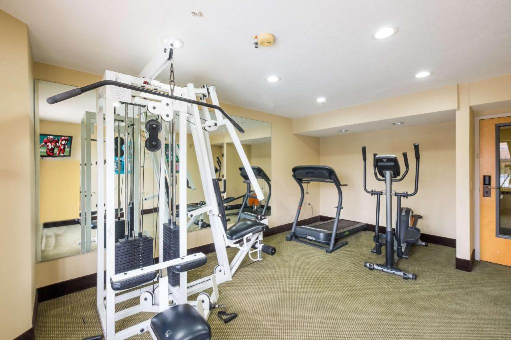 Centro de fitness Red Roof Inn Houston - IAH Airport/ JFK BLVD