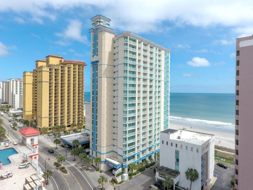 Carolinian Beach Resort Hotel Myrtle Beach SC  Deals