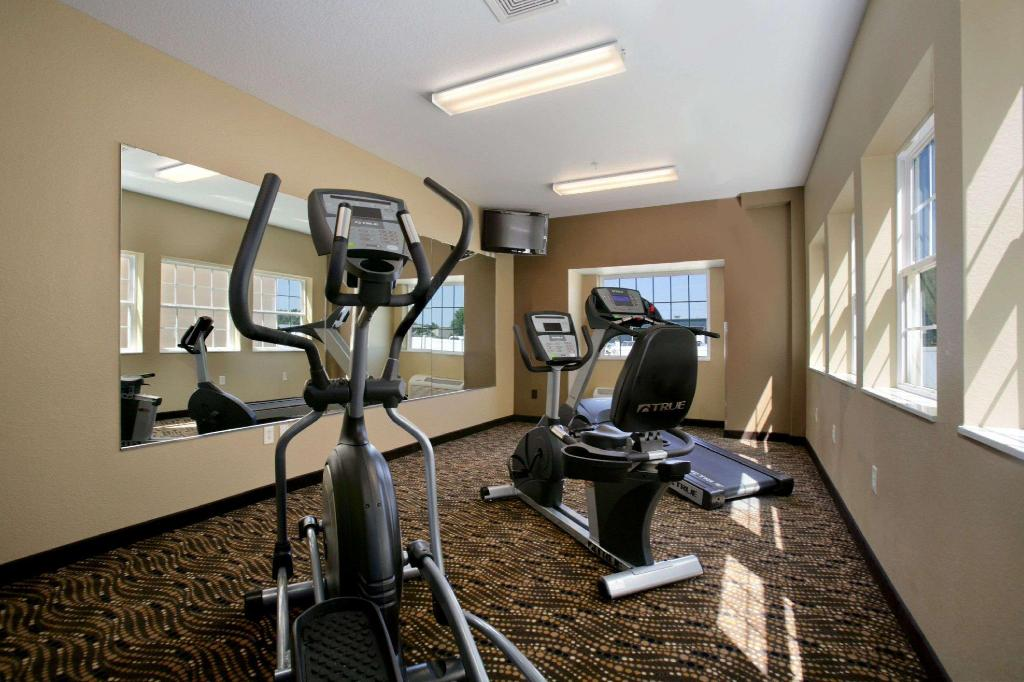 Centro de fitness Microtel Inn & Suites by Wyndham Council Bluffs