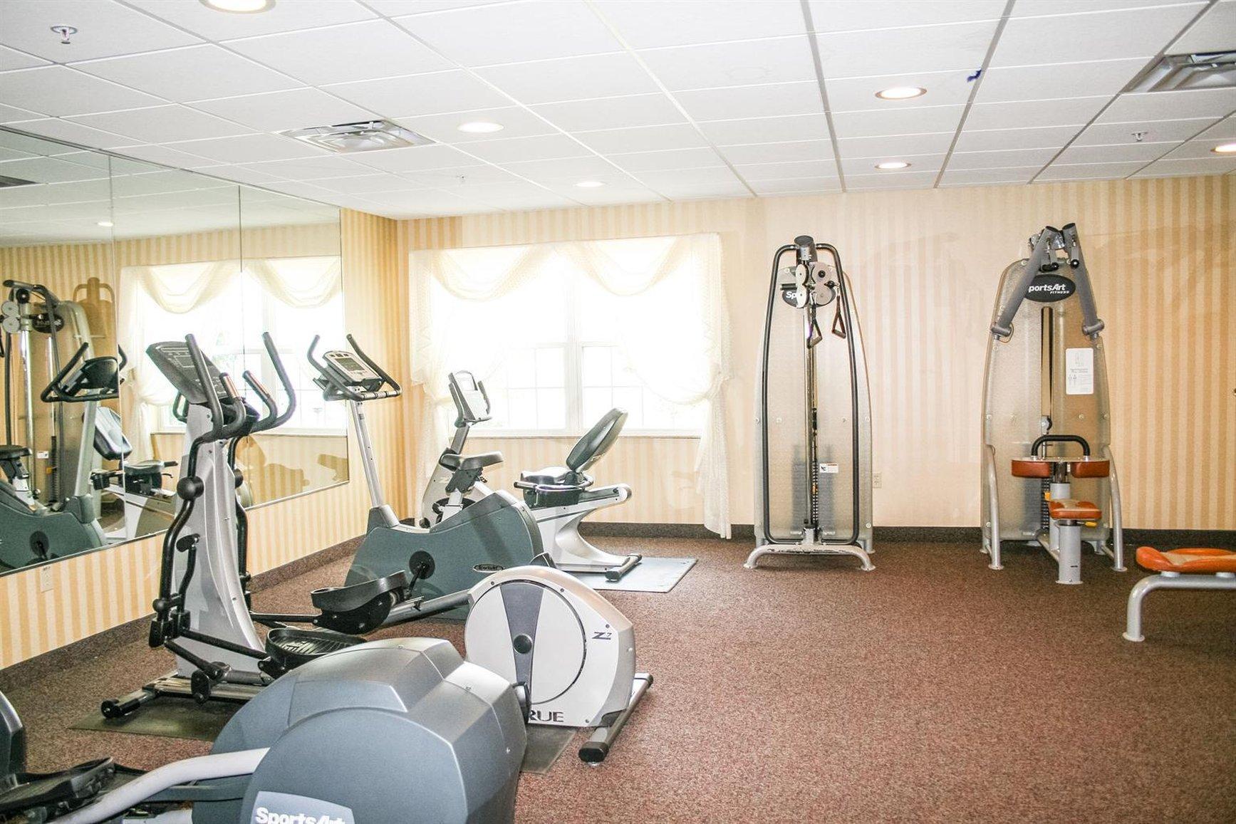 Fitness Center Blue Gate Garden Inn