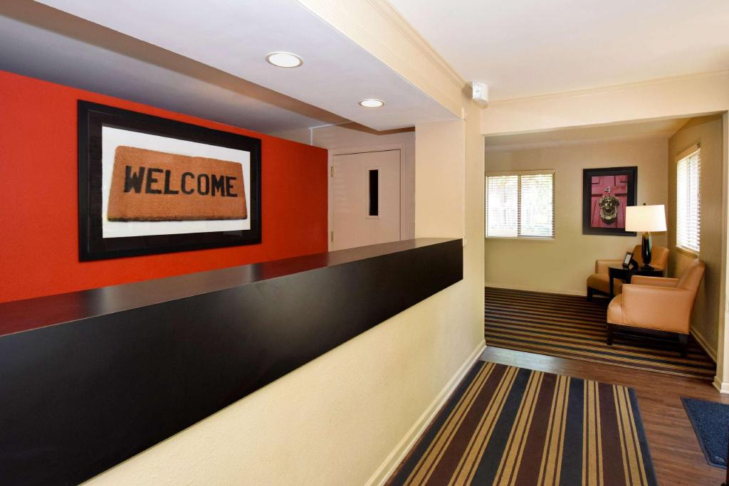 Lobby Extended Stay America Montgomery Carmichael Rd