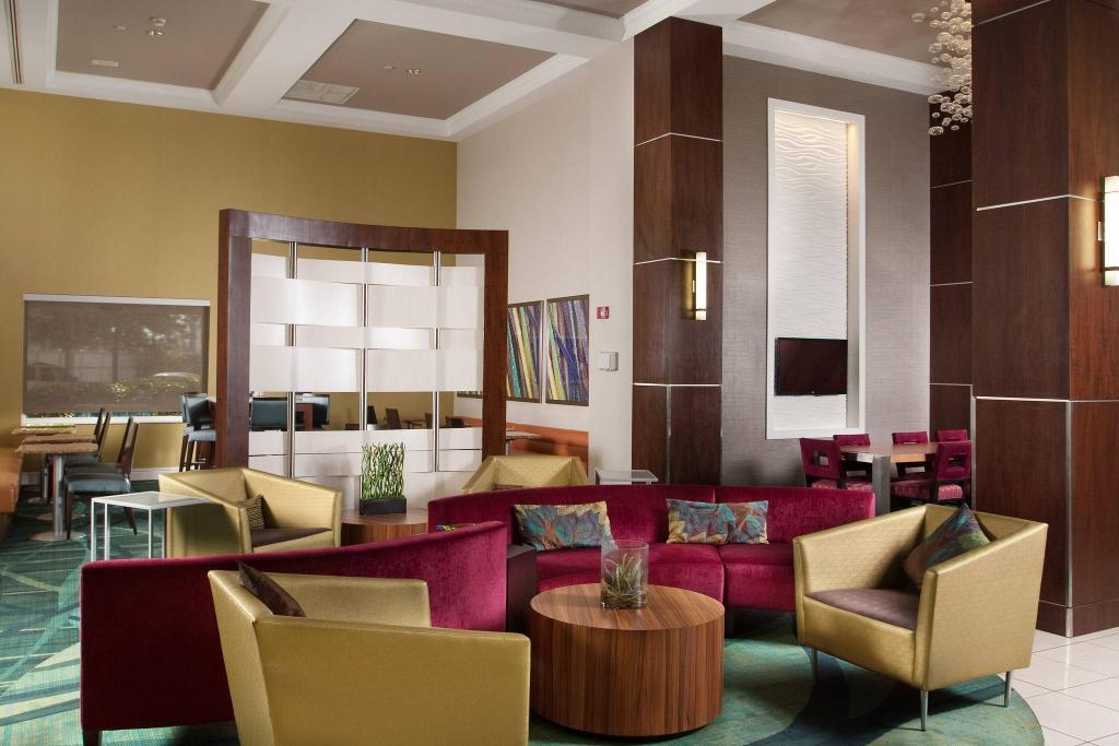 Lobby SpringHill Suites Fort Lauderdale Airport & Cruise Port