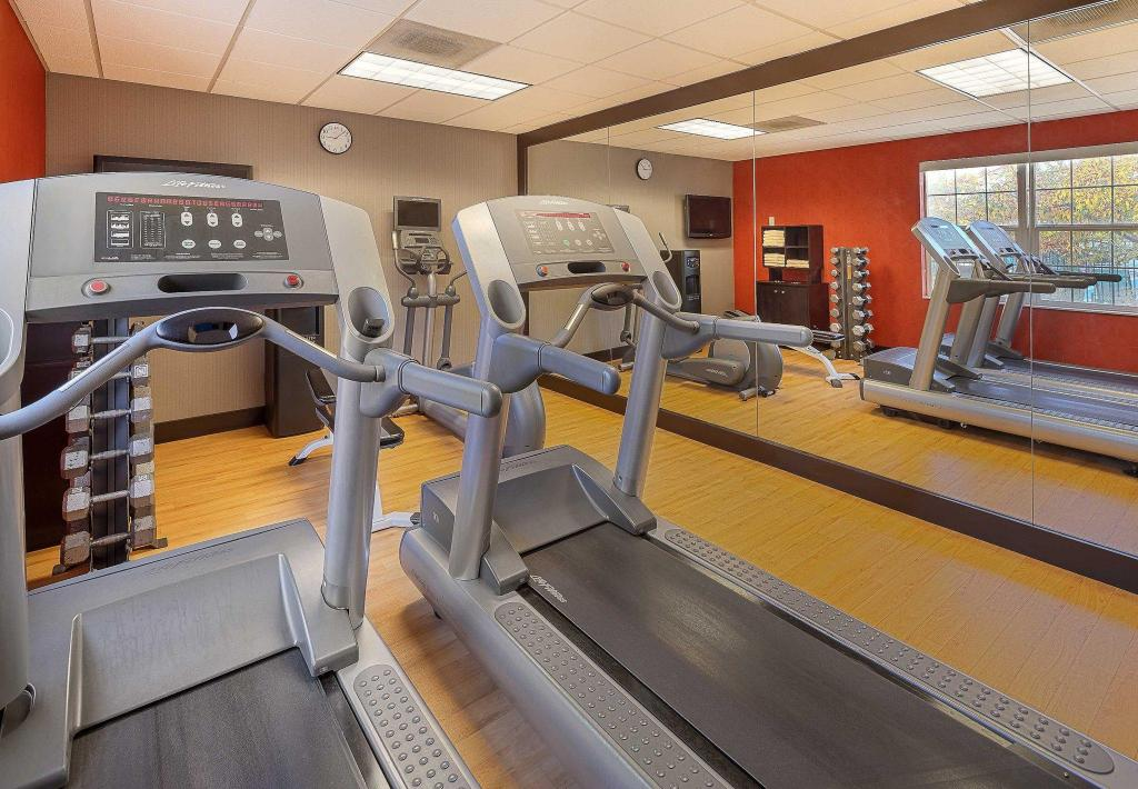 Centro de fitness Residence Inn Salt Lake City Cottonwood