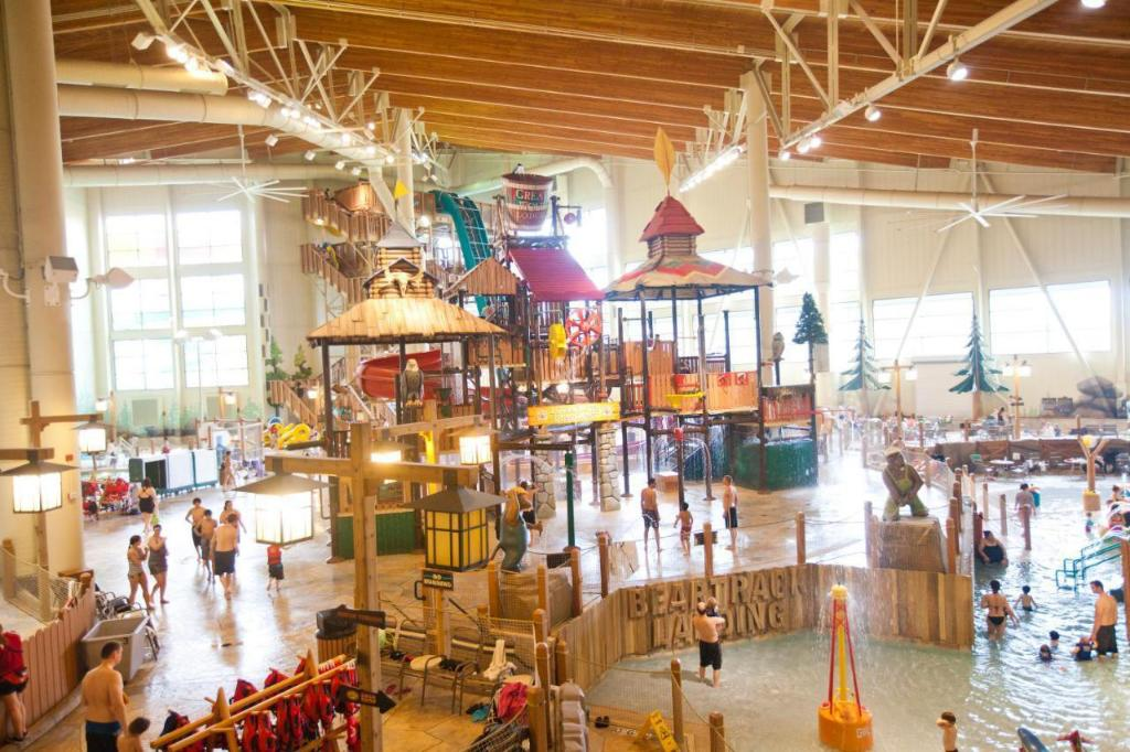 Fritidsfaciliteter Great Wolf Lodge - Grand Mound Wa