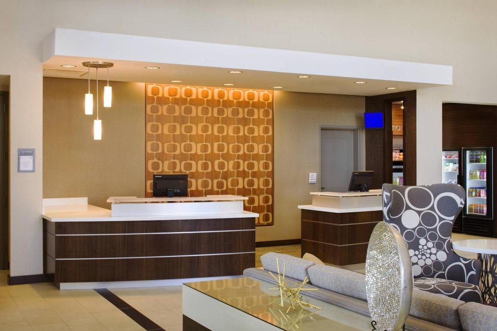 Lobby Residence Inn Tustin Orange County