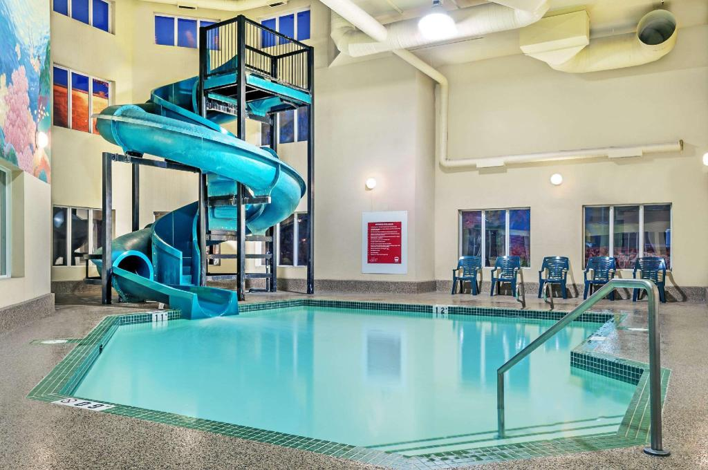 Piscina Super 8 By Wyndham Edmonton South