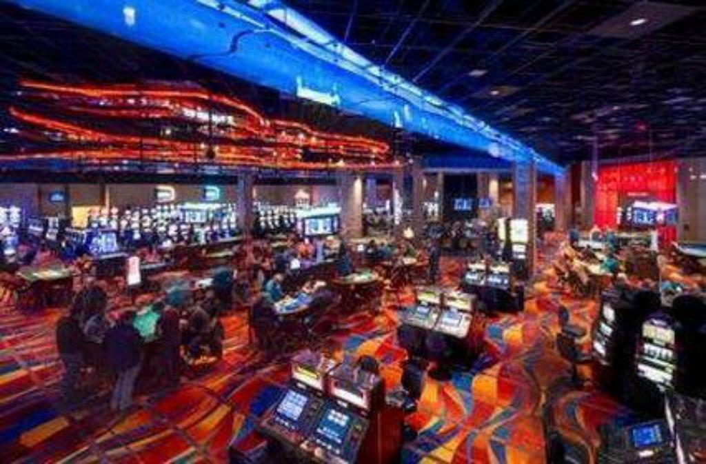 Vista interior Akwesasne Mohawk Casino Resort
