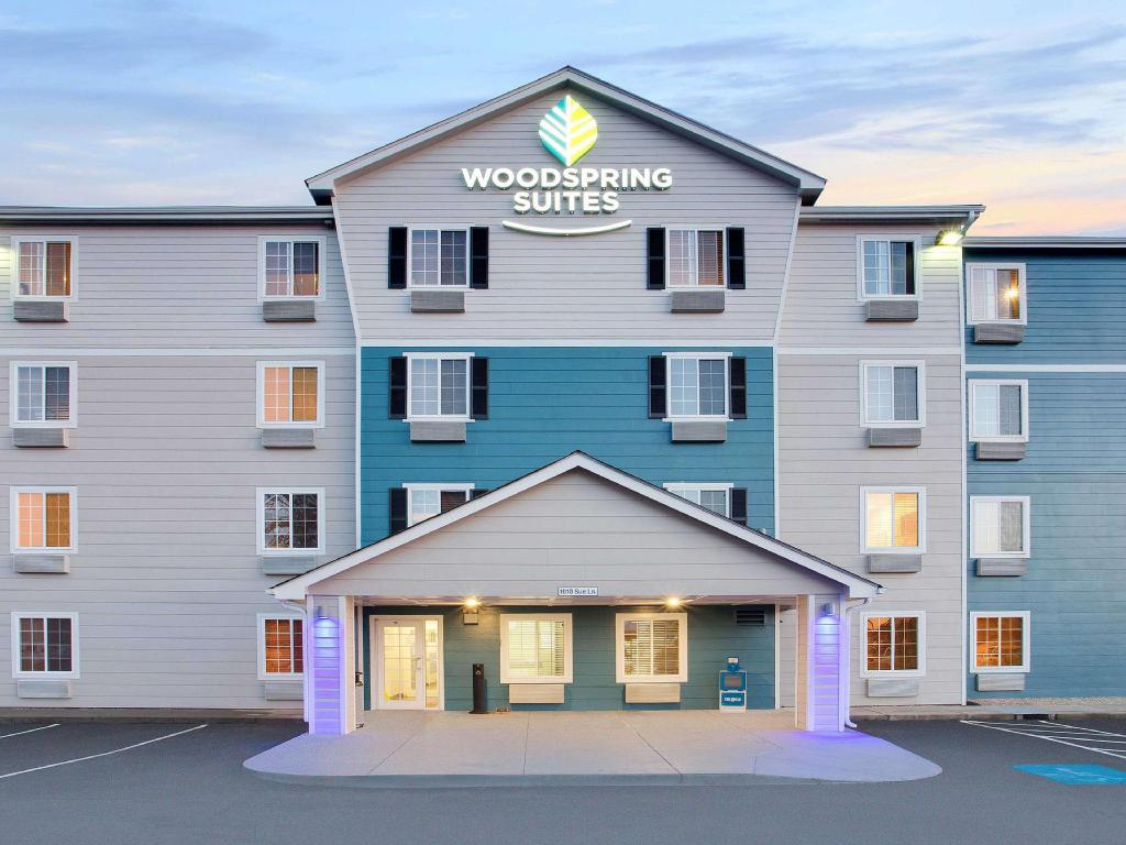 Vista exterior WoodSpring Suites Charlotte Shelby