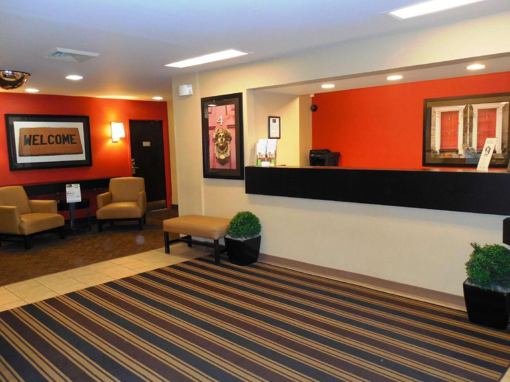 Lobby Extended Stay America Charleston Mt Pleasant