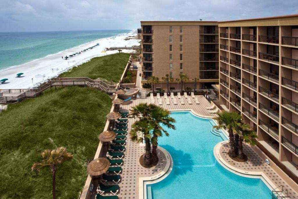 utomhuspool Wyndham Garden Fort Walton Beach Destin