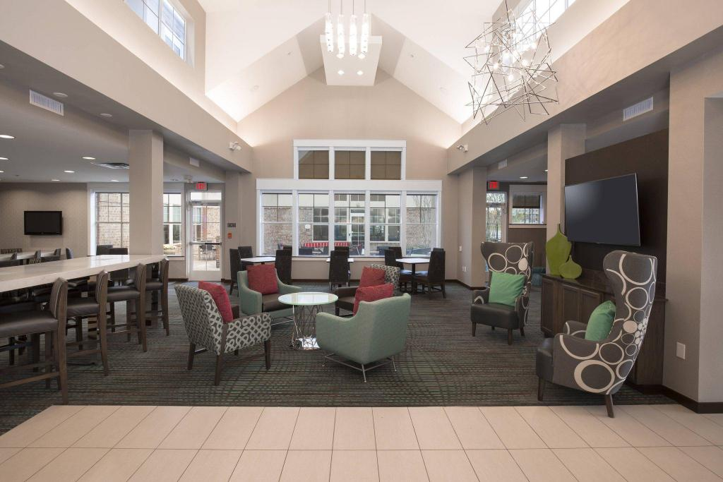 Lobby Residence Inn Dallas Arlington South