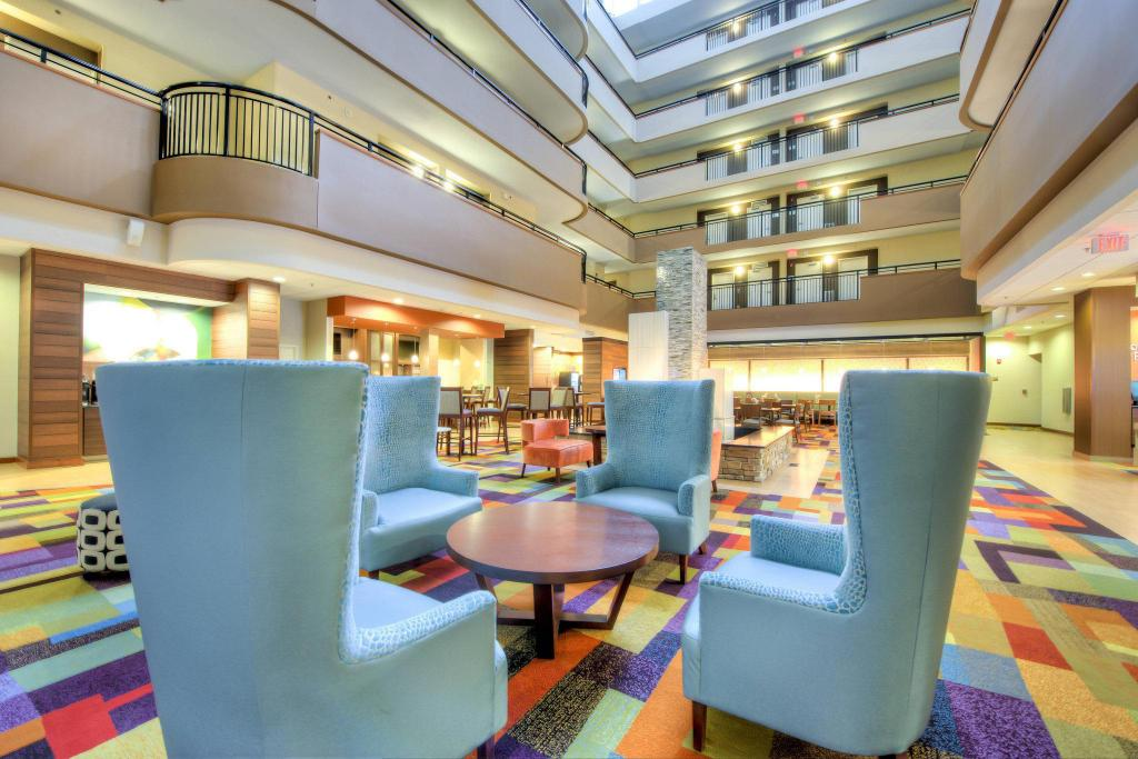 Lobby Fairfield Inn & Suites Durham Southpoint