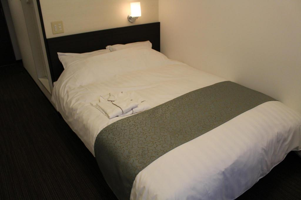 Compact Double Room - Smoking - 床 大津石山雷亞飯店 (Good Location Reiah Hotel Otsu Ishiyama)