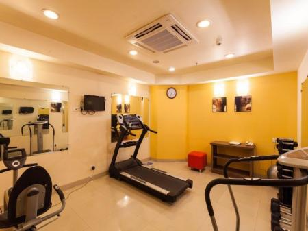 Fitness center Ginger Hotel Indore