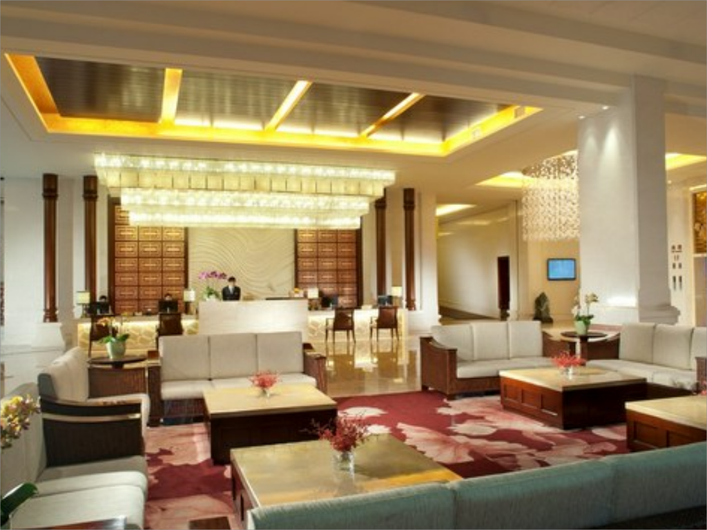 Lobi Guiyang Poly International Spring Hotel