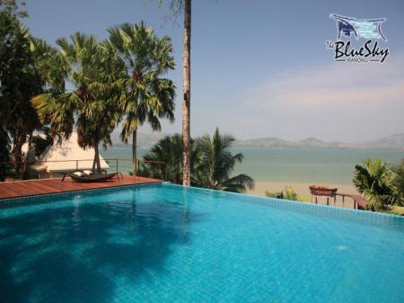 Swimming pool [outdoor] The Blue Sky Resort@ Ranong