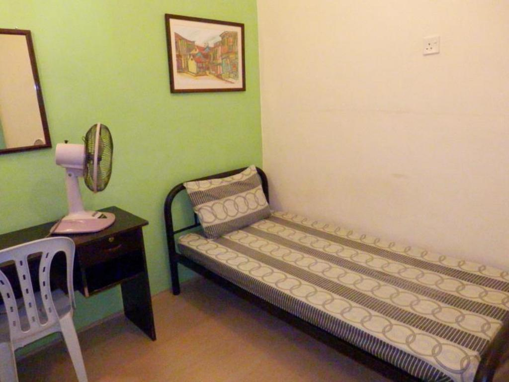 Single (Fan) - Shared Bathroom - Guestroom Travellers Planet Hostel
