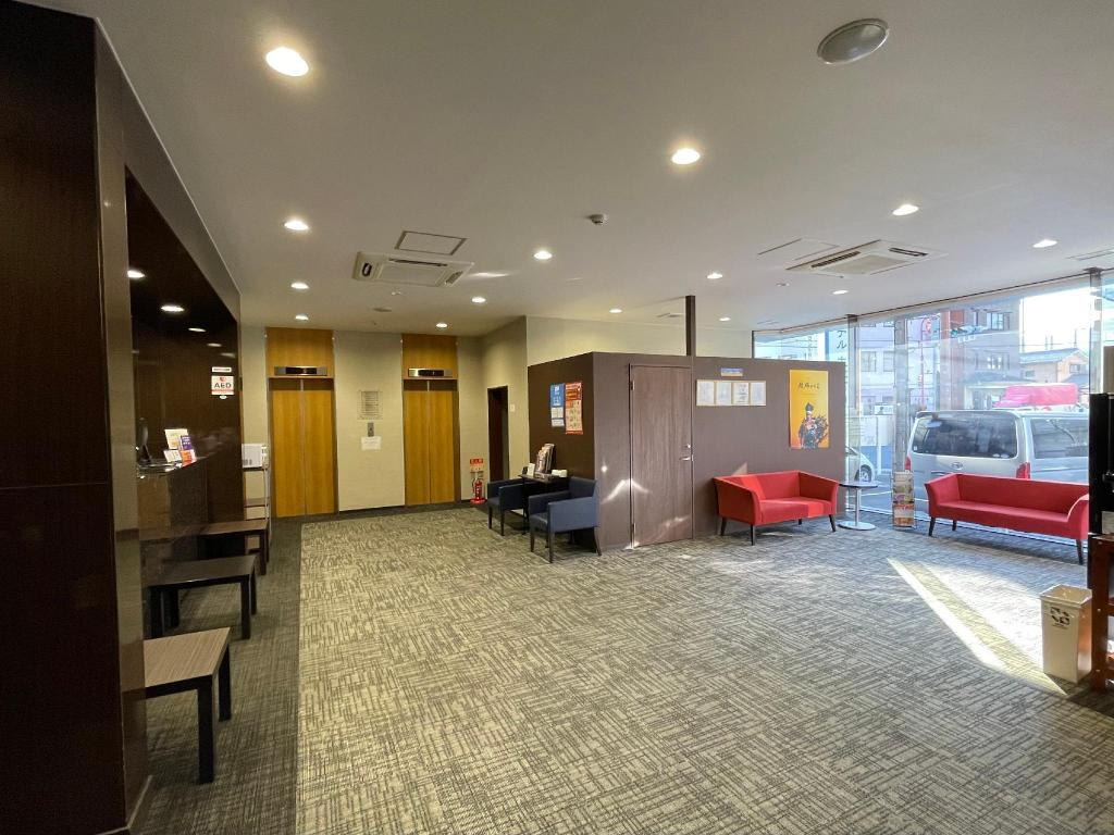 大廳 大津石山雷亞飯店 (Good Location Reiah Hotel Otsu Ishiyama)