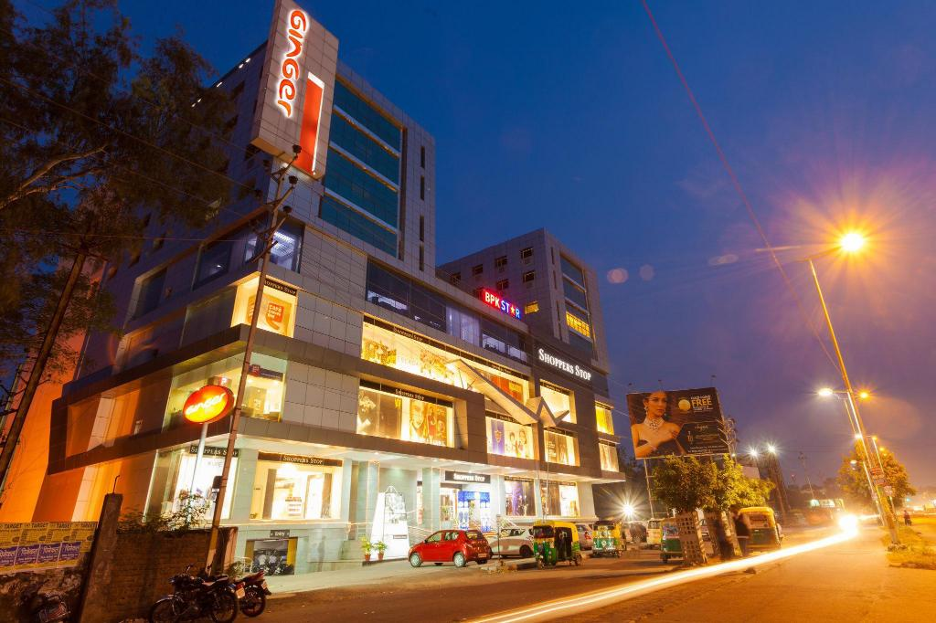 Exterior view Ginger Hotel Indore