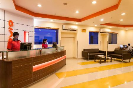 Lobby Ginger Hotel Indore