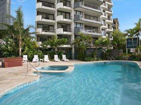 Swimming pool Broadbeach Pacific Resort