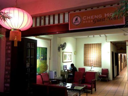 Resepsionis Cheng Ho Sayang Guesthouse
