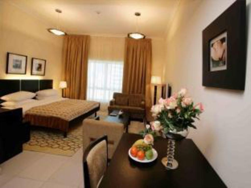 Studio Apartment - Guestroom Gulf Oasis Hotel Apartments