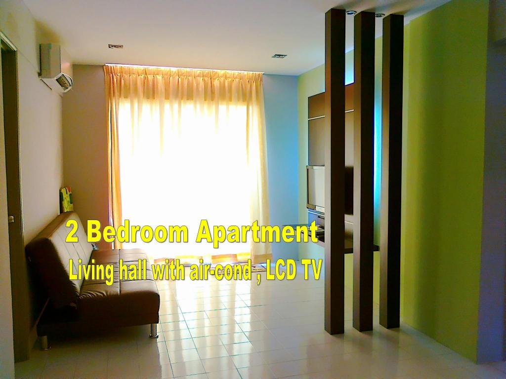 Family Suite 2-Bedroom - Interior view Malacca Hotel Apartment