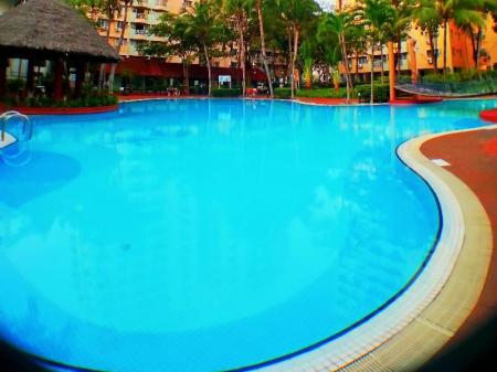 Swimming pool Malacca Hotel Apartment