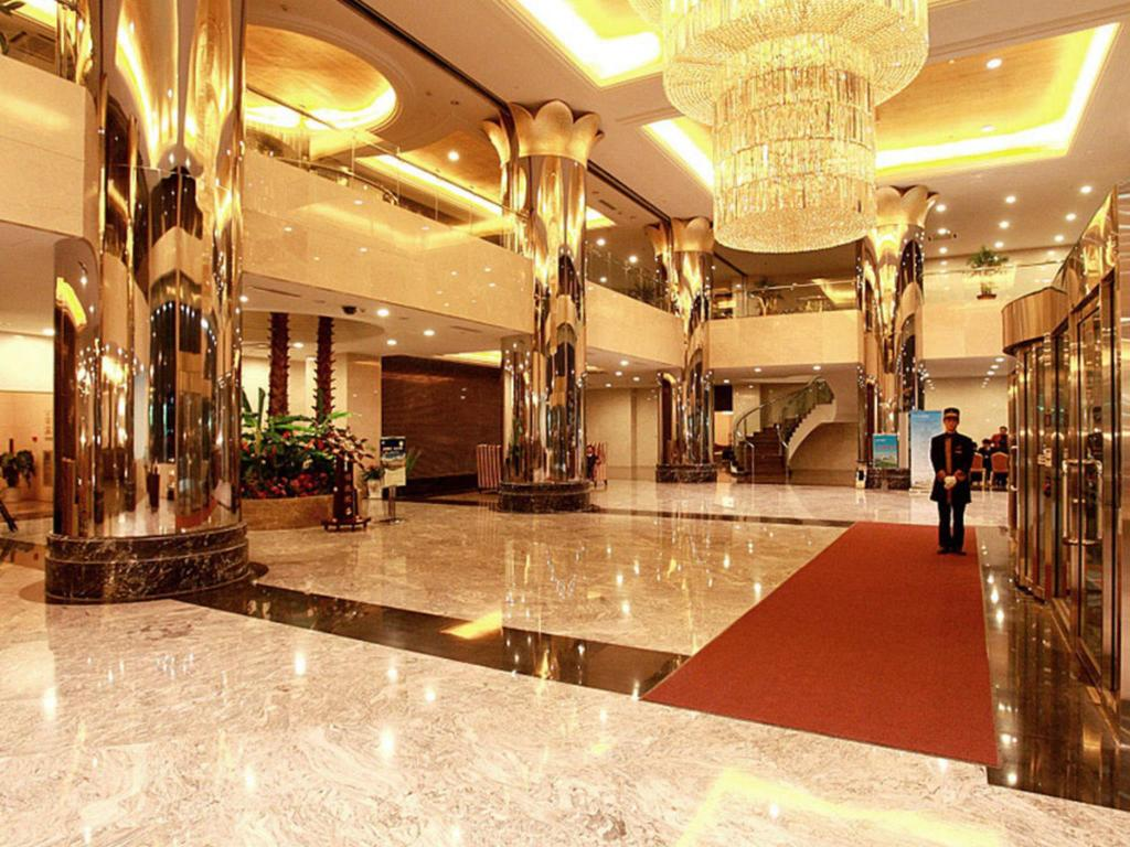 大堂 淄博藍海國際大飯店 (Zibo Blue Horizon Intenational Hotel)