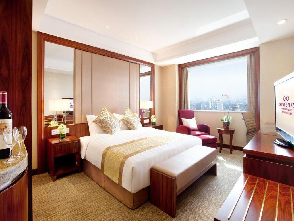 Deluxe King Bed Crowne Plaza Nanjing Hotels & Suites