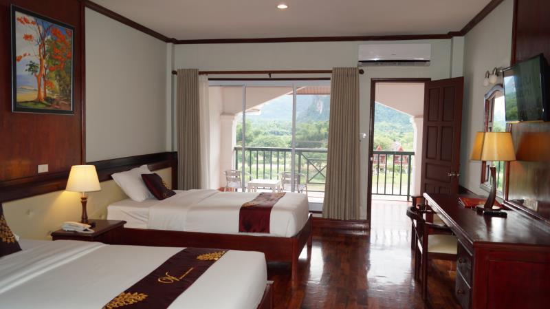Vansana Hotel Vang Vieng In Laos