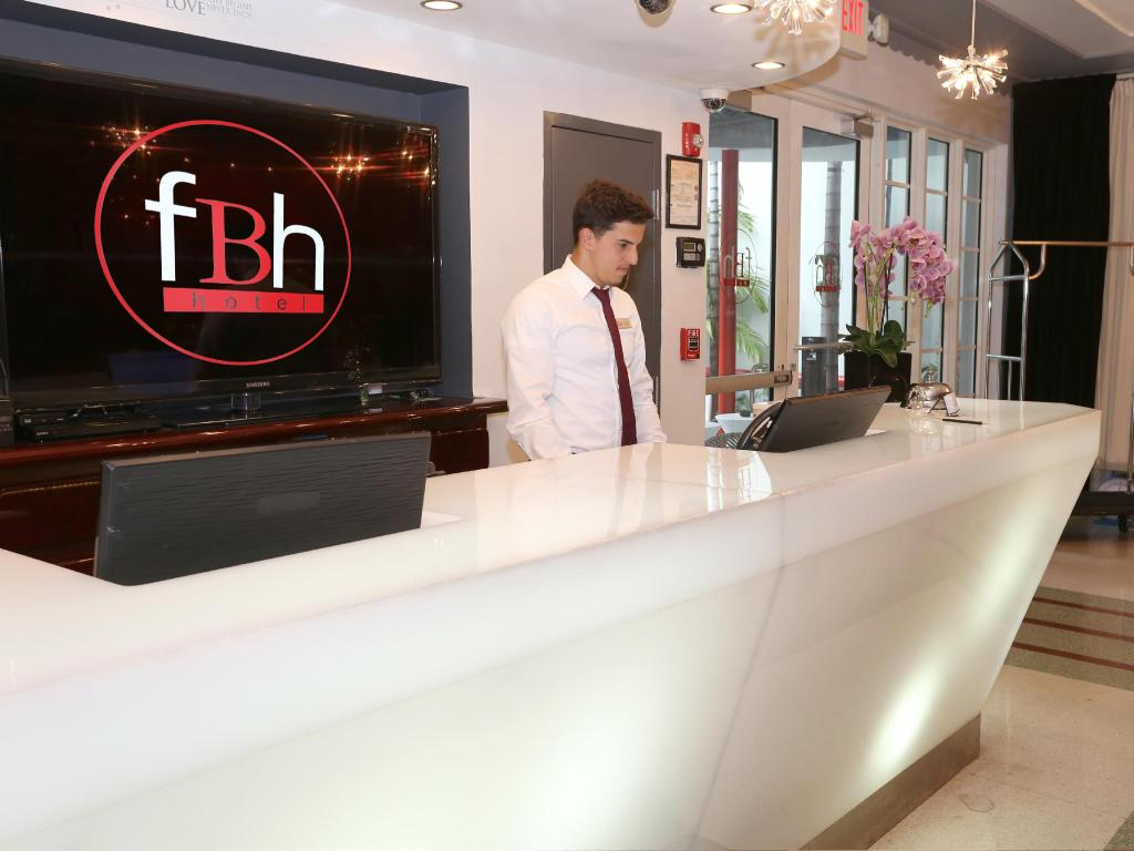 Lobby FBH Fashion Boutique Hotel