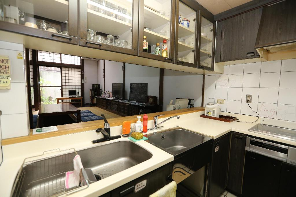 Shared kitchen Waraku House