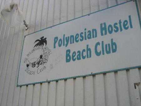 Exterior view Polynesian Hostel Beach Club