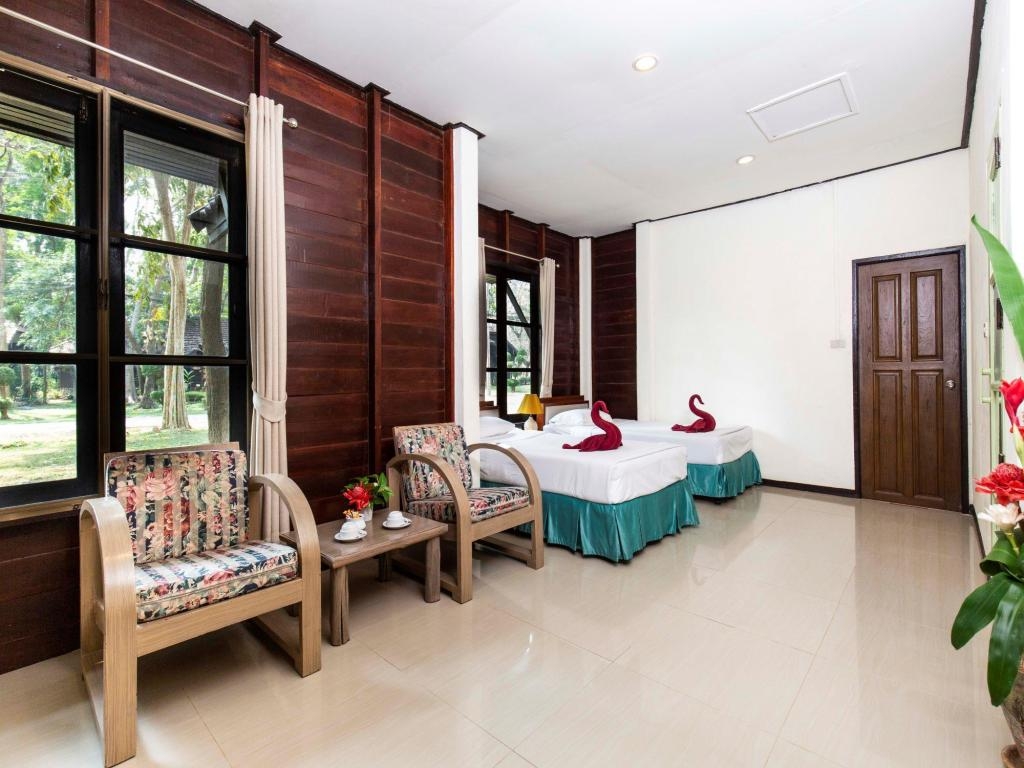 Superior - Room plan The Legacy River Kwai Resort