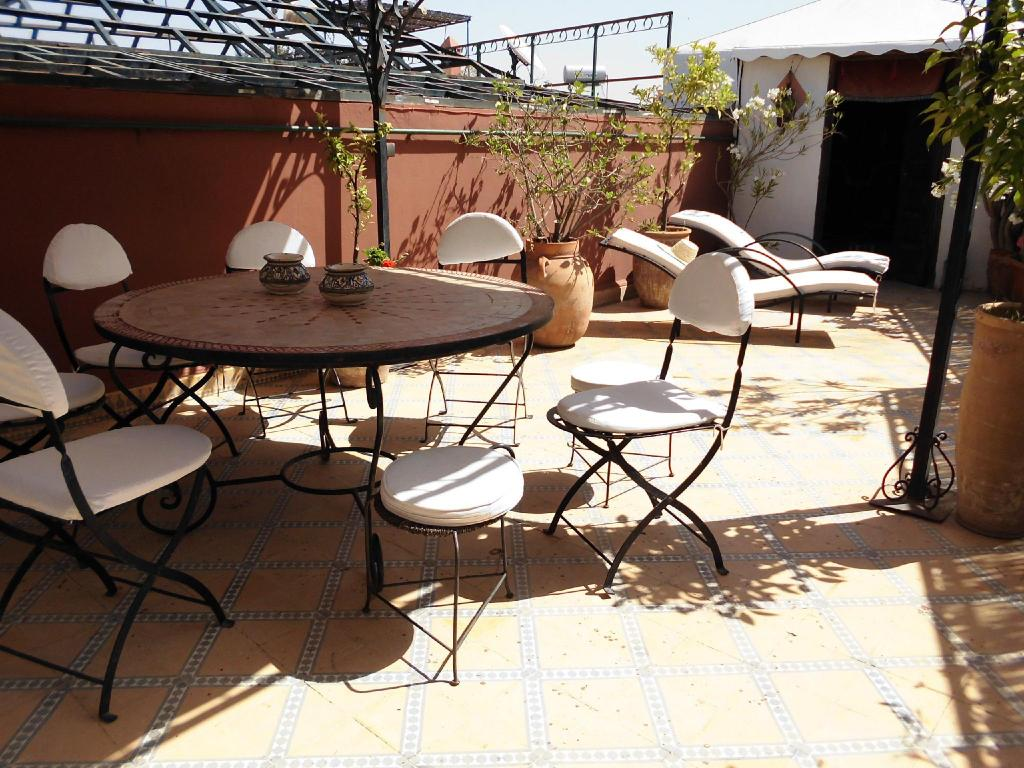 Balcony/terrace Riad Bibtia