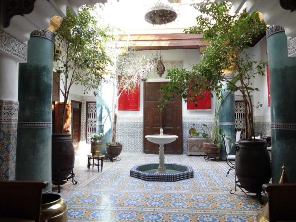 Interior view Riad Bibtia