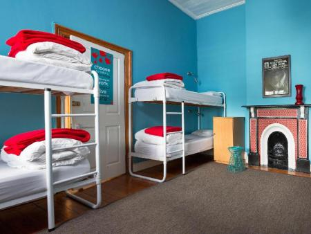 1 Person in 8-Bed Dormitory - Mixed - Room plan The Backpack Hostel