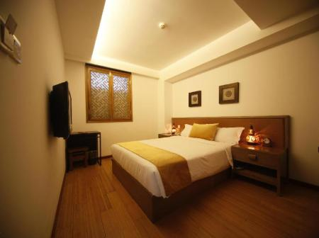 Standard Queen Bedroom Shichahai Shadow Art Boutique Hotel