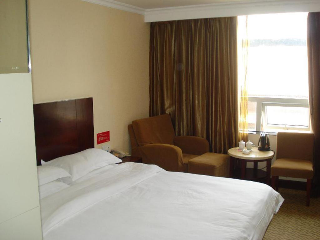 Standard Queen - Katil Golden Fortune Hotel Zhuhai