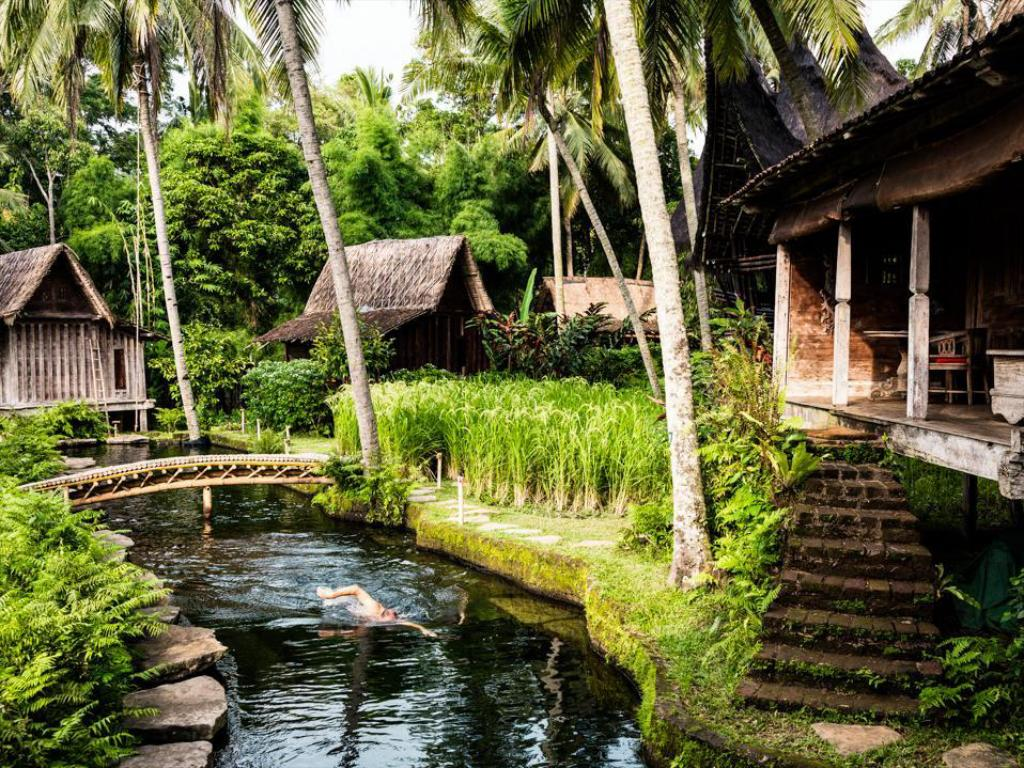 Best price on bambu indah hotel in bali reviews for Best hotel di bali