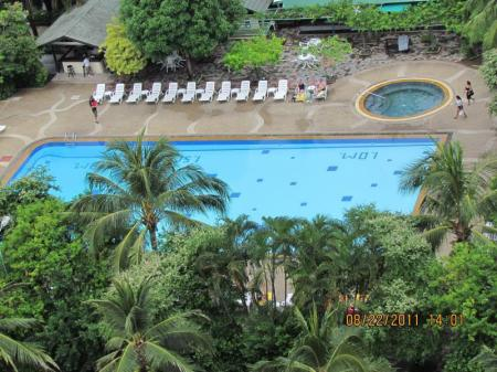 Swimming pool Patong Tower Apartment by Patong TC