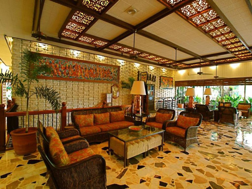 Interior view Oasis Hotel