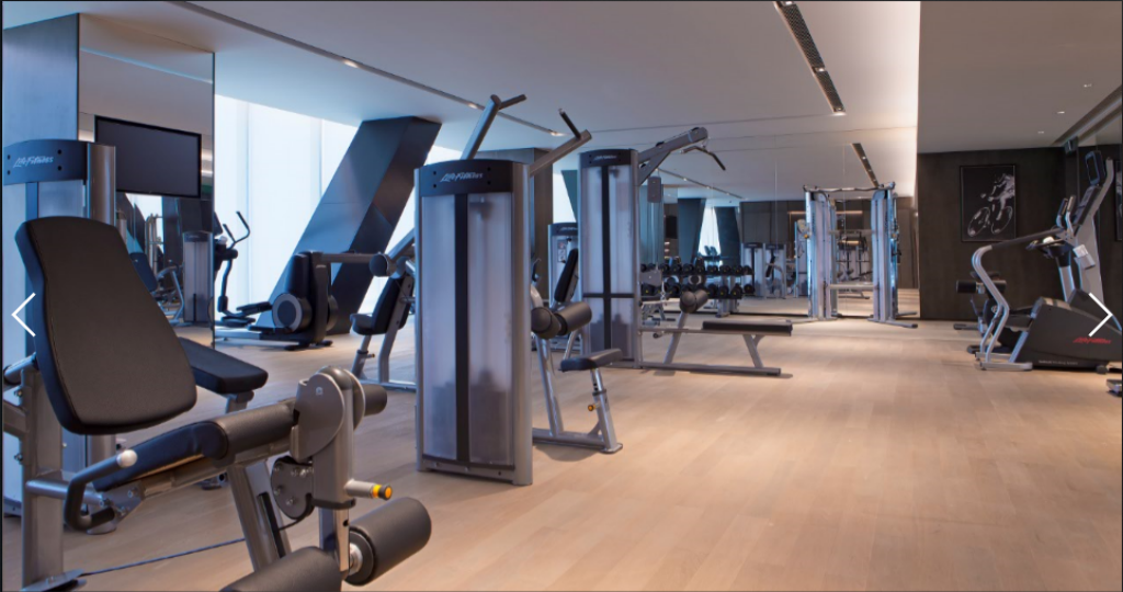 fitness centrum Niccolo Chongqing