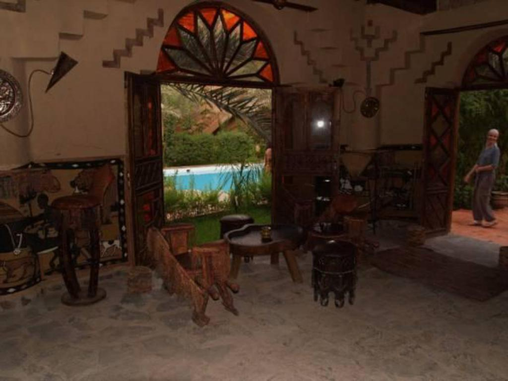 Interior view Riad Lamane