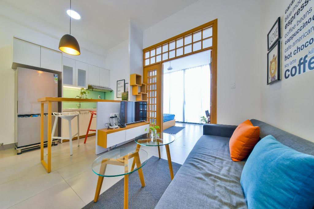 Serviced Apartment 04.02 in Thao dien Ward, D2