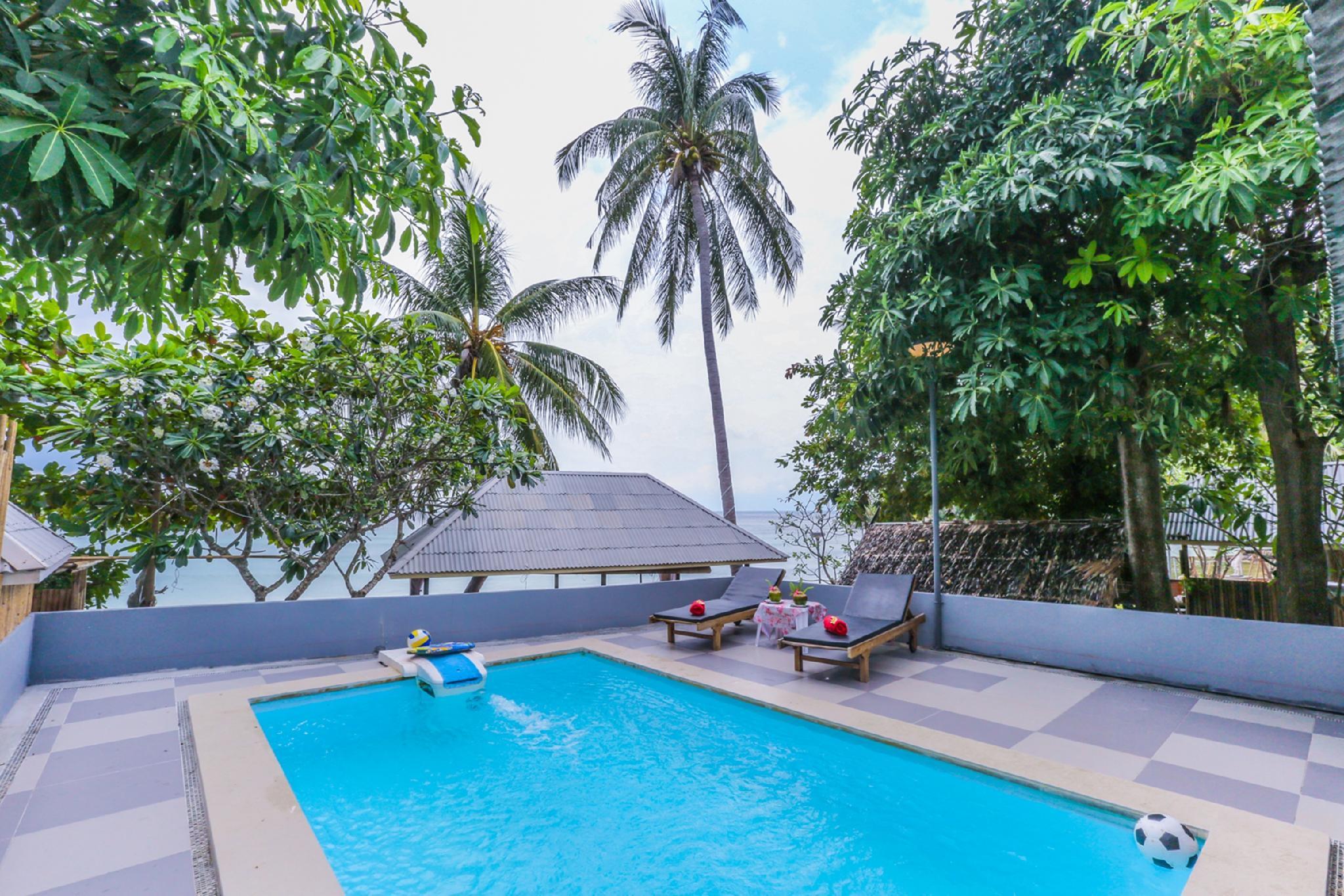 Villa Cha Cha Salad Beach Koh Phangan in Thailand - Room