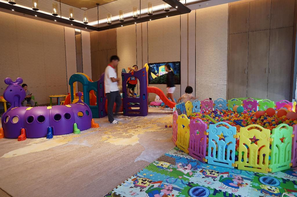 Kids areas Shenzhen Marriott Hotel Golden Bay