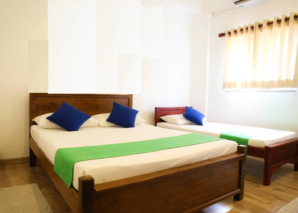 Family Room - (1 Double Bed 1 Single Bed) - Bed Wild Hill - Unawatuna